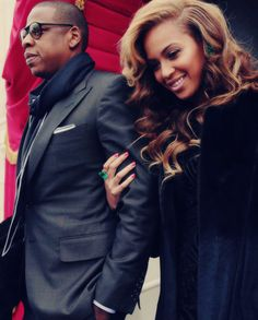 #Beyonce and Jay-z at #Obama Inauguration #queenbey