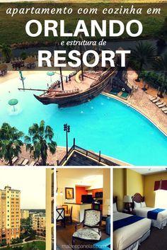 Apartamento em Orlando com estrutura de Resort
