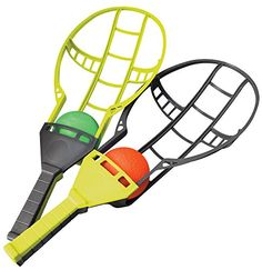 Wham-O Trac Ball Racket Toy Game Wham-O http://www.amazon.com/dp/B00003CYPK/ref=cm_sw_r_pi_dp_31f6wb1NAHWHG