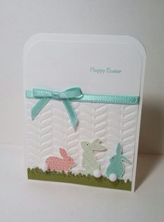 Ears To You card by Jeanie Tavitas-Williams. #stampinup
