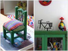 Naifandtastic:Decoración, craft, hecho a mano, restauracion muebles, casas pequeñas, boda: En casa de.. Flor y Pedro