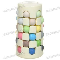 Genuine Hungarian 6x6 Magic Babylone Tower Puzzle Toy  @dx