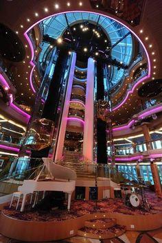 The Centrum- Splendour of the Seas - love Cruising with Royal Caribbean