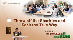 """Gospel Movie Clip """"Break the Shackles and Run"""" - Cast Off the Shackles and Study the True Way 02 Blind Faith, Worship God, Christian Movies, Believe In God, Musical, Youtube, Study, Film, Dance Videos"""