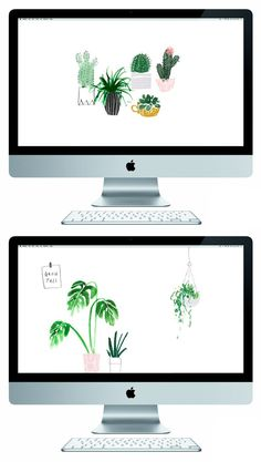 Plant life free desktop wallpapers || The Lovely Drawer