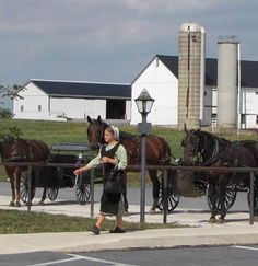 Buggy Parking at the Amana Colonies