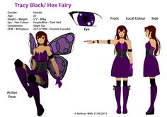 Hex Fairy works for the company who created the Welcome to the World game, primarily as rule keepers and referees. She dose enjoy playing the game and being paid to do so, but her true life-goal is to become an Actress. Alongside Mizu Beam, Hex is the more mature player and also takes care of the live stream and social media during the tournament. Hex's powers come from her dark fairy magic, her main power is the ability to summon and manipulate long lengths of spiked chains.
