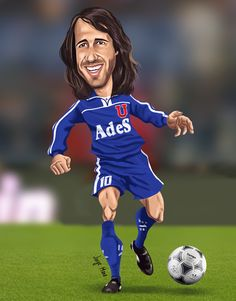 Leonardo Rodriguez, Football Art, Chile, Athlete, Hs Sports, Drawings, South America, University, Caricatures