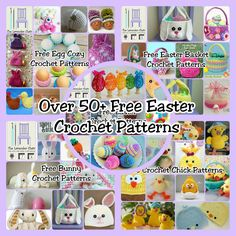 Over 50 Free Easter Crochet Patterns - The Lavender Chair