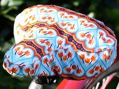 Fahrradsattelbezug aus Wachstuch zum Selbermachen