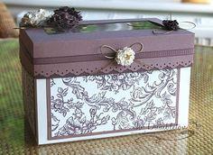 Large Stampin Up gift box