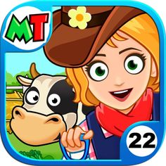 My Town : Farm         *** Find out more about the great product at the image link. (This is an affiliate link) #AppsGames