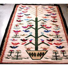 tapis arbre de vie #carpet #chalet