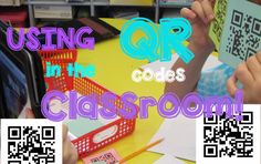 USING QR CODES IN THE CLASSROOM! (+playlist)