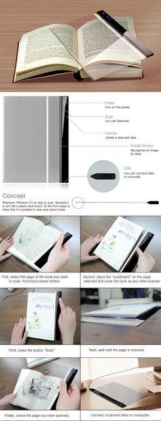 "Because I Love to Scan - ""Scan Board"" - Designers: Jo Jae-hwan and Shin Se-hwa"