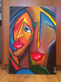 """""""Insieme""""  Acrylic on canvas  50x35"""