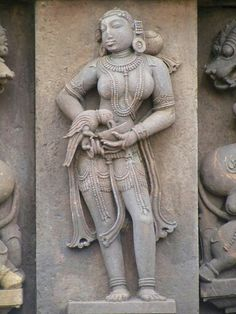 markanda temple Beautiful carved idol on outer wall of temple all around…
