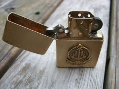 Vintage Merit 1932 1985 Solid Brass Zippo Lighter Great Condition Unfired