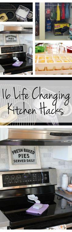 16 Life Changing Kitchen Hacks