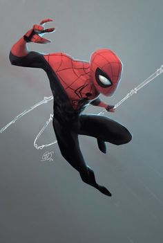 Growing up a big fan of spidey alot of my time drawing when I was younger was with spiderman. Marvel Comics, Hq Marvel, Marvel Heroes, Amazing Spiderman, All Spiderman, Comic Book Characters, Comic Character, Comic Books Art, Comic Art