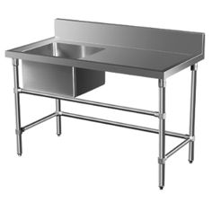 sinks stainless stainless steel benches stainless shelves stainless ...