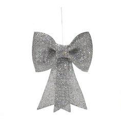 Nœud décoratif à suspendre - Noël Actuel  A découvrir dans votre magasin ALINEA.