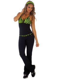 BootyFits.com by Yanina Sportswear - Sexy fitness wear, womens exercise clothing, womens Activewear, workout wear, athletic wear, Brazilian fitnesswear. Etc - Bia Brazil Capri SL1013   womens activewear apparel