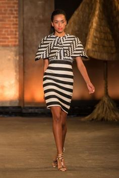 Christian Siriano - shift dress and bolero jacket