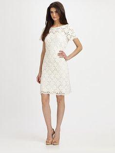 ShopStyle: Cotton Lace Dress