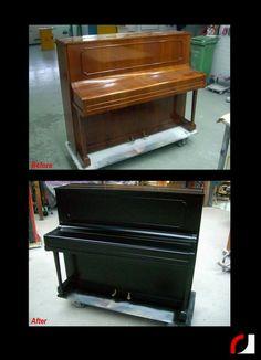 #Spuiterij #meubelspuiterij #interieurspuiterij #Parkstad #Kerkrade #Limburg #Heuvelland #Piano #Spuiten #Verven #Interieur #Meubels #Instrumenten #restylen #renoveren