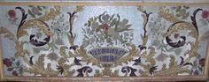 L'Eglise Saint-Pierre et la Chapelle Saint-Meuf, La tapisserie de perles, antependium du maître-autel