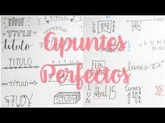 Apuntes Bonitos   Como hacer Titulos - YouTube