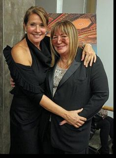 Honorary Co-Chairs Lorraine Bracco and Penny Marshall @ The 5th Annual BIANYS Gala  Photo by Patrick McMullen