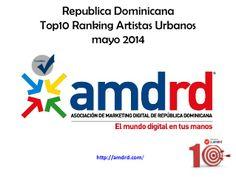 Ranking Figuras Musica Urbana Dominicana en Twitter by Asociacion Marketing Digital de la Republica Dominicana (AMDRD) via slideshare