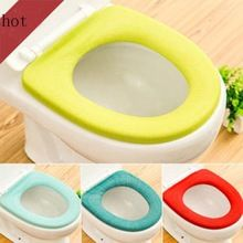 Ouneed Bathroom Toilet Seat Cover Closestool Case Washable Soft Warmer Mat Covers Pad Cushion Drop Shipping Happy Sale ap626(China)
