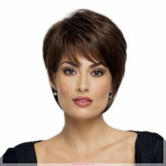 Short Hairstyles - Short Hair Short hair styles 2017 for women and Teenage boys come with kinds of 2017 with a short hair cut. Short Layered Haircuts, Layered Bob Hairstyles, Cute Hairstyles For Short Hair, Straight Hairstyles, 1920s Hairstyles, Beautiful Hairstyles, Hairstyles Haircuts, Short Straight Hair, Short Hair Cuts