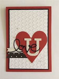 Valentines card Stampin up | Craftiness: Hand Made Cards ...