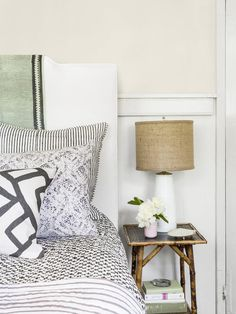 This casual chic bedroom belongs to one stylish half of a mother/daughter duo. See which one here. #hgtvmagazine http://www.hgtv.com/decorating-basics/motherdaughter-decorating/pictures/page-3.html?soc=pinterest