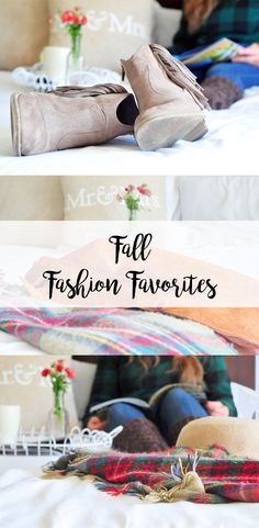 5 Fall Fashion Favorites: Break out the booties and scarves! It's fall, y'all, and we've got the top 5 must-have fall fashion accessories for you on the blog. Grab a pumpkin spice latte, and get ready to shop these looks!                                              #fall #fallfashion #trends #musthave