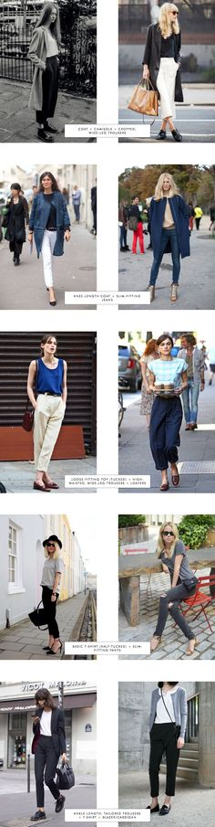 Proportions - Spring Edition (Trousers Part 1) [great to see diff proportions!)