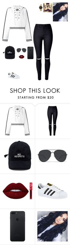 """Untitled #335"" by becca-penguin on Polyvore featuring Puma, Lime Crime, adidas and Steve Madden"