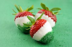 Cinco De Mayo Dipped Strawberries