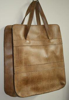 Genuine Vintage St Michael Big Shopper Bag Big Fashion Designer Eco Leather | eBay