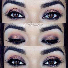 make up top delineado maquiagem cílios