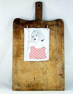 Nadelkunst  / Her mit dem schönen Leben von mARTina haussmann auf DaWanda.com