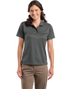 Collar Sport Shirt - Buy discount sport-tek ladies dri-mesh sport shirt with tipped collar and piping at Gotapparel.com.