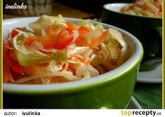 Zeleninová čalamáda recept - TopRecepty.cz 20 Min, Thai Red Curry, Salsa, Cabbage, Vegetables, Ethnic Recipes, Food, Meal, Salsa Music