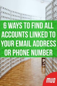 6 Ways to Find All Accounts Linked to Your Email Address or Phone Number - ECE - Technologie Life Hacks Iphone, Cell Phone Hacks, Smartphone Hacks, Technology Hacks, Computer Technology, Energy Technology, Business Technology, Business Education, Application Utile