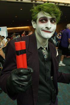 Comic Con Cosplay - Joker