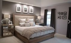 How to get new bedroom painting ideas? Pictures of Ben Moore Violet Pearl – Mode… How to get new bedroom painting ideas? Pictures of Ben Moore Violet Pearl – Modern Master Bedroom Paint Colors Ideas painting ideas for master bedroom Modern Master Bedroom, Modern Bedroom Design, Master Bedroom Design, Dream Bedroom, Home Decor Bedroom, Bedroom Ideas, Master Suite, Bedroom Neutral, Bedroom Furniture